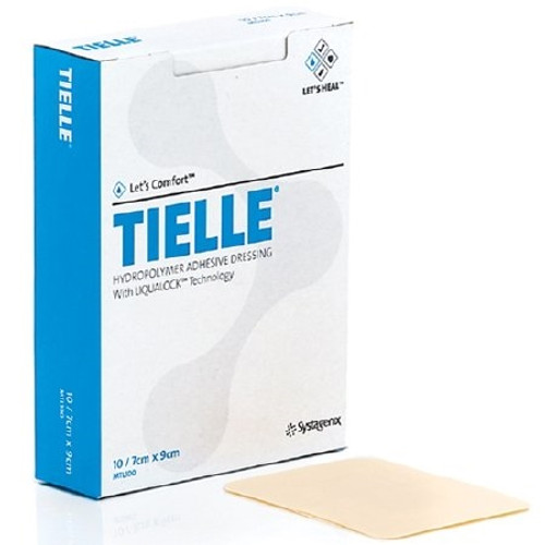 Foam Dressing TIELLE Square Adhesive Sterile