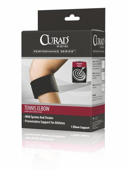 Curad Tennis Elbow Compression Support Straps