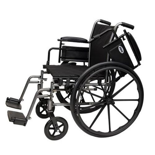 ProBasics K4 Wheelchair with Swingaway Footrests 18x16 - PB1610