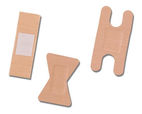 Curad Fabric Adhesive Bandages, Natural