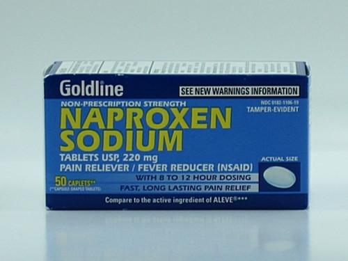 Naproxen Sodium (Compare to Aleve)