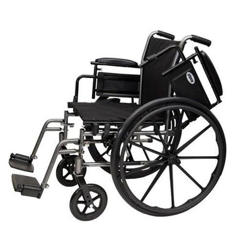 ProBasics K4 Wheelchair with Swingaway Footrests 20x16 - PB1812