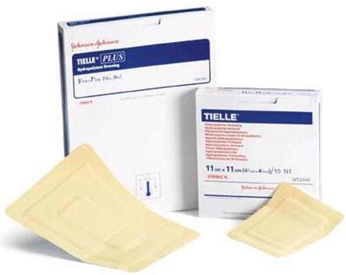Foam Dressing TIELLE Sacrum Sacral Adhesive Sterile