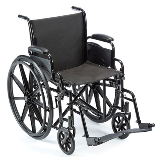 ProBasics Value K1 Wheelchair with Footrests, 16x16, PBEC03FR