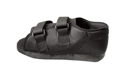 Semi-Rigid Post-Op Shoes, Black