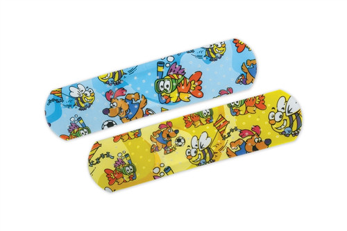 CURAD Medtoons Adhesive Bandages, Cartoon