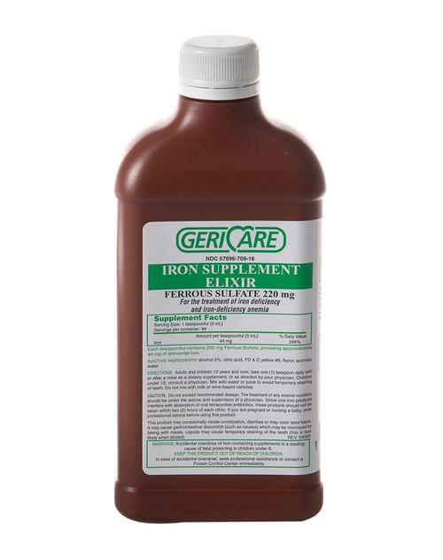 Ferrous Sulfate Elixir (Compare to Feosol Elixir)