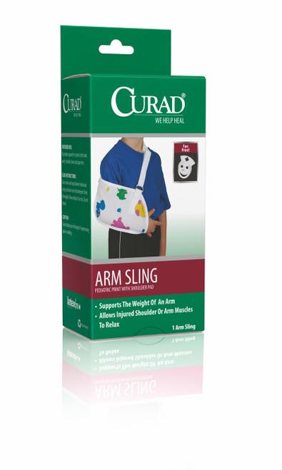 Curad Pediatric Arm Slings, Pediatric Print