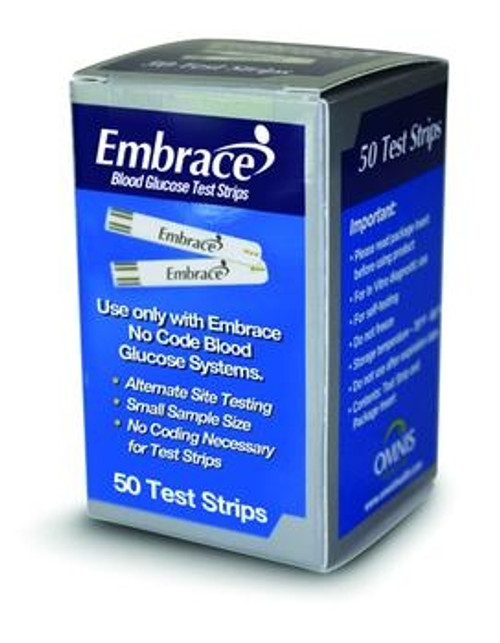 omnis embrace no code test strips