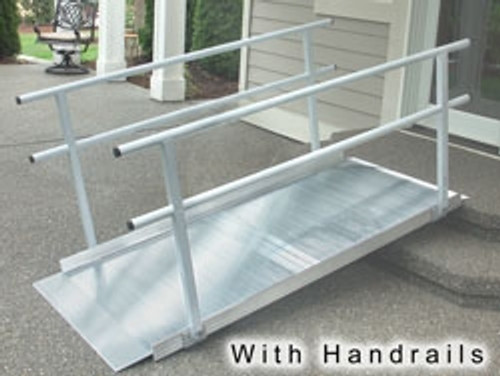 EZ-ACCESS, Pathway Ramp with Handrail