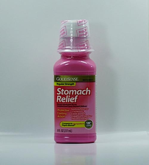 Pink Bismuth Liquid (Compare to Pepto Bismol)