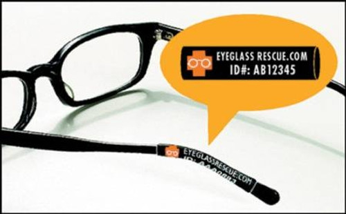 Identification and Protection Eyeglass Sleeves