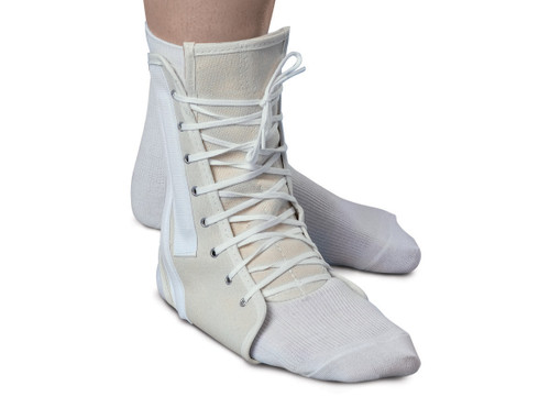 Canvas Lace-Up Ankle Support