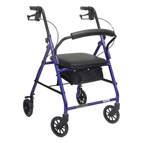 ProBasics Value Rollator with Loop Brakes: Red PB1024RD