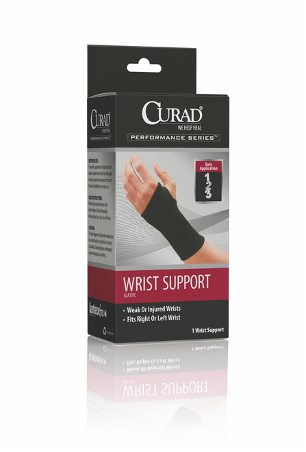 Curad Elastic Pull-Over Wrist Supports