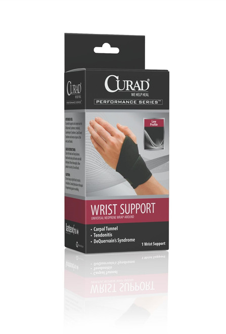 CURAD Universal Wrap-Around Wrist Supports, Universal