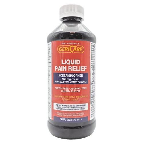 Geri-Care Antacid Liquid Suspension, 12 oz., Cherry