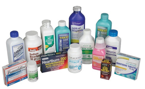 Antacid Tablets (Compare to Prilosec OTC)