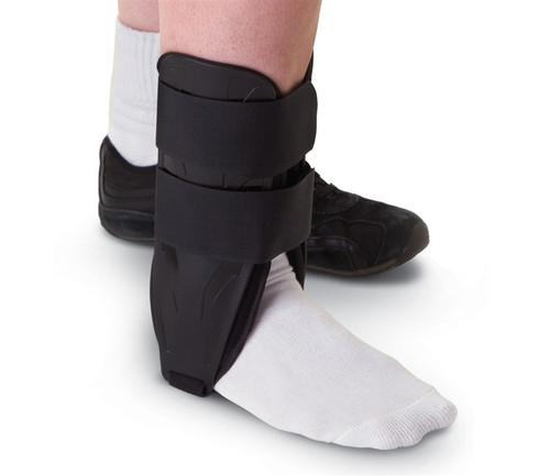 Foam Stirrup Ankle Splints, Black