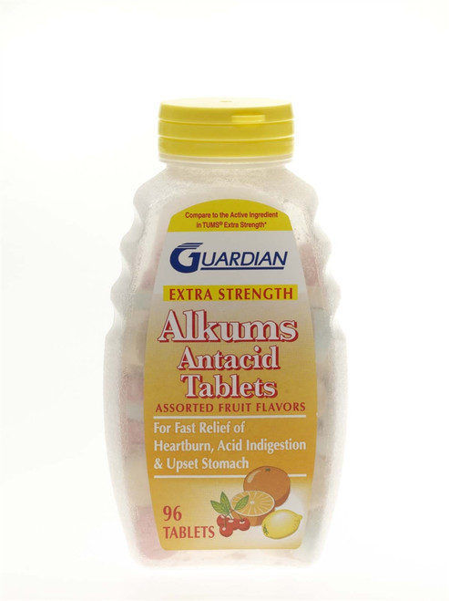Flavored Extra Strength Antacid Tablets