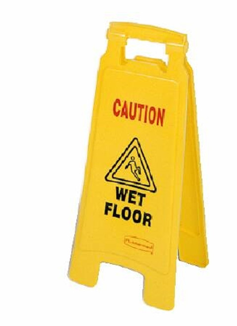 Lagasse Rubbermaid Caution Sign