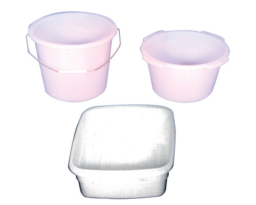 Rectangular 10QT Commode Bucket