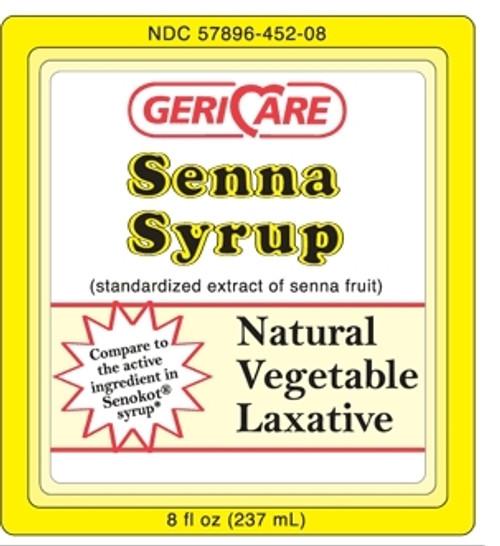 Geri-Care Senna Syrup Laxative