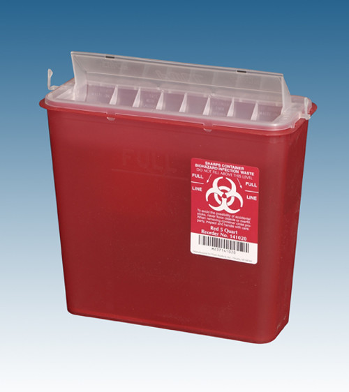 Sharps Containers - 5 qt