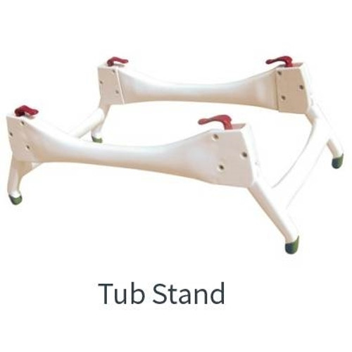 tub stand for otter bathing system