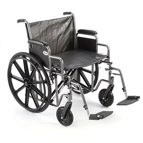 "ProBasics Heavy-Duty Wheelchair, Swingaway Footrests - 22""x18"" - PB1124"