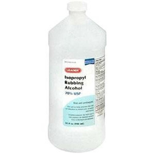 Leader 70% Isopropyl Rubbing Alcohol, 16 oz., Wintergreen - Item #: PH2810620