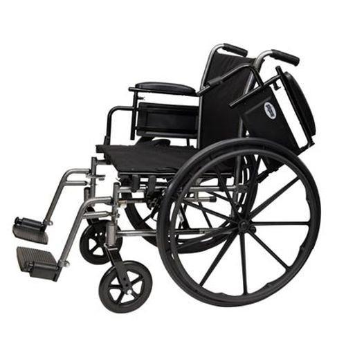 ProBasics K4 Wheelchair with Swingaway Footrests 16x16 - PB1610