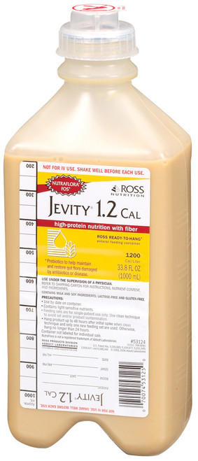 Jevity 1.2 Cal Formula - 1000 mL Containers