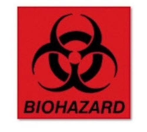 Lagasse Biohazard Warning Label