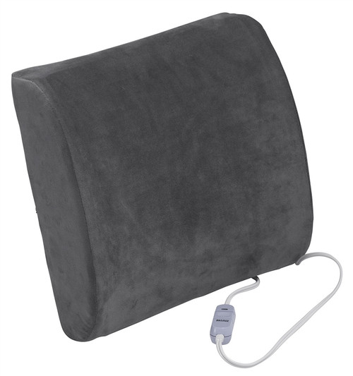 Drive Medical Comfort Touch Heated Lumbar Support Cushion RTL2017CTL