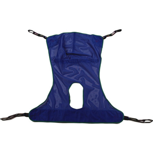 Mesh Sling with Commode - Large