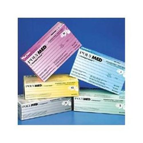POLYMED Latex Sterile Exam Gloves
