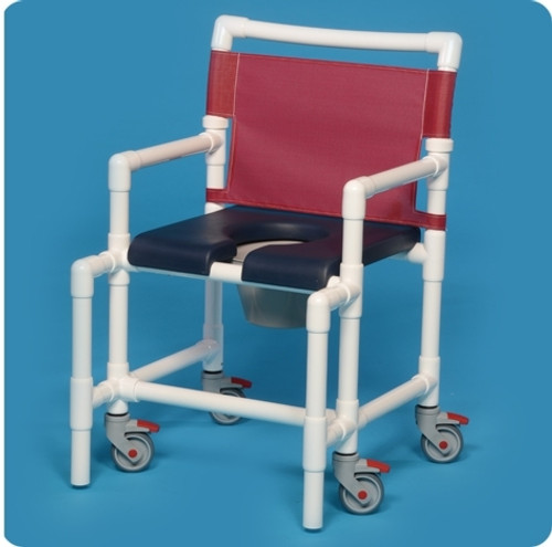 Midsize Shower Chair Commode - SCC750MSN