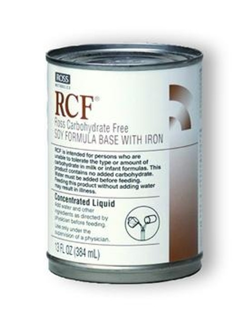 RCF No Added Carbohydrate Soy Infant Formula Base With Iron