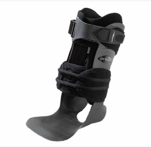 Ankle Brace DonJoy Velocity MS Hook and Loop Closure