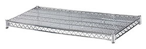24x60 Chrome Plated Wire Shelf