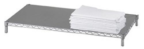 Solid 24x60 16 gauge Chrome Plated Shelf
