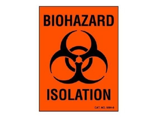 Shamrock Scientific Chemical Hazard Label 1