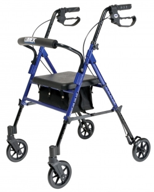 Set nðð Go Height Adjustable Rollator