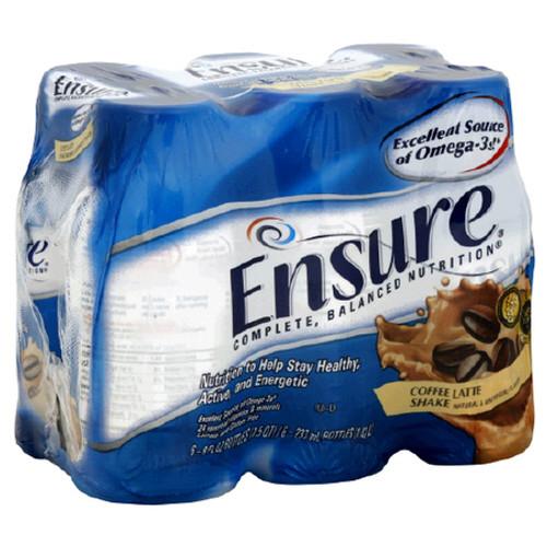 Ensure Nutritional Shakes - Coffe Latte