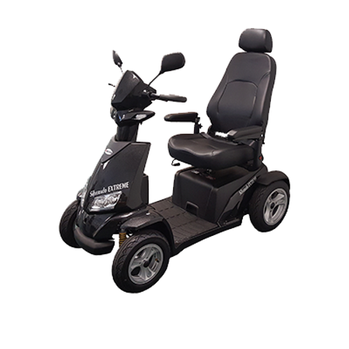 Silverado Extreme 4-Wheel Full Suspension Power Scooter S941L