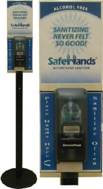 AlcoholFree Hand Sanitizer SafeHands BZK (Benzalkonium Chloride) Foaming Dispenser