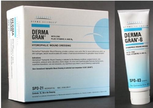 Derma Sciences Dermagran Hydrophilic Wound Dressing