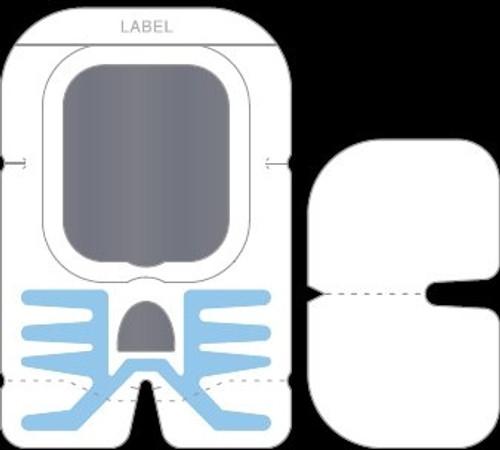 Window Dressing Sorbaview Shield Paper Sterile