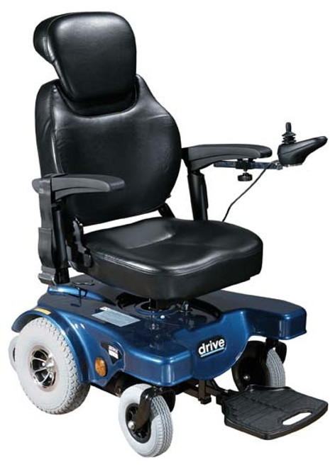 Sunfire General Rear Wheel Drive Powered Wheelchair with Captains Seat and Various Seating Sizes